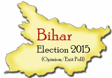 Bihar Election 2015 opinion Exit Poll