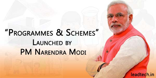scheme launch by PM narendra Modi