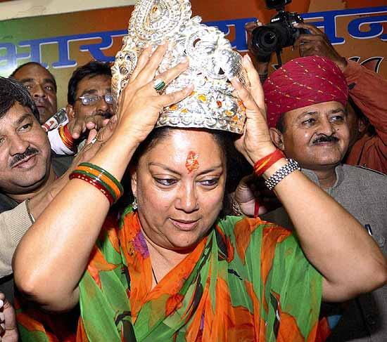 Vasundhara Raje Sworn In As Rajasthan Chief Minister